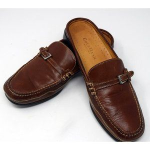 Women's Cole Haan Brown Leather Loafer/Mule 8.5AA